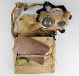 Early WW2 British Army Gas Mask Set 1937/38
