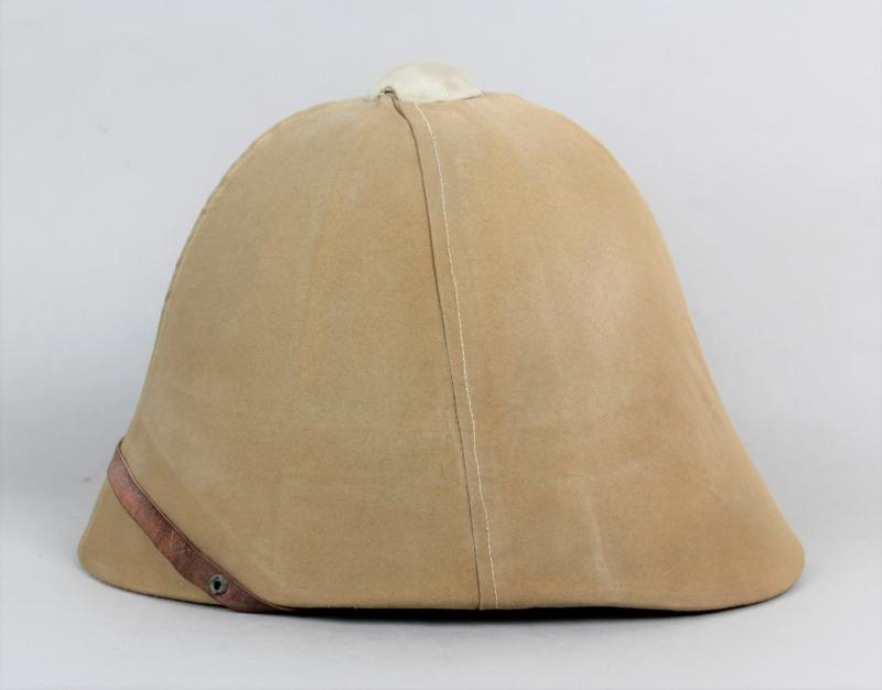 WW1 French M1886 Other Ranks Pith Helmet With Rare  Khaki Cover